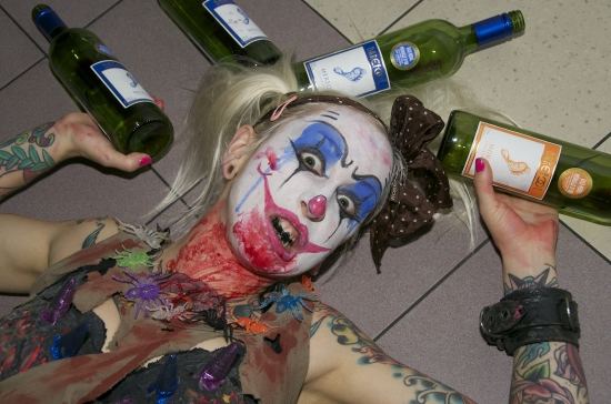 Barefoot Wine- Zombie Film Night 238